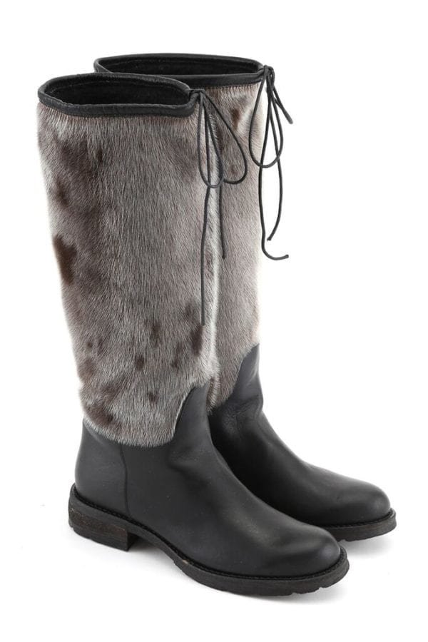 sustainable sealskin boot