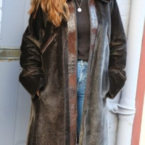 newfoundland sealskin coat