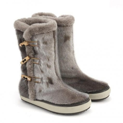 sealskin boots fur culture